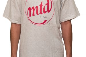 MTD4Lyfe Logo T-Shirt Gray
