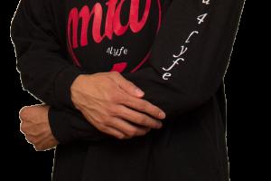 MTD4Lyfe Logo T-Shirt Long Sleeve / Black