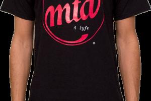 Black MTD 4Lyfe Logo T-Shirt